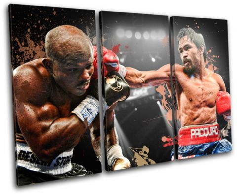 Pacquiao Bradley Boxing Sports - 13-2199(00B)-TR32-LO